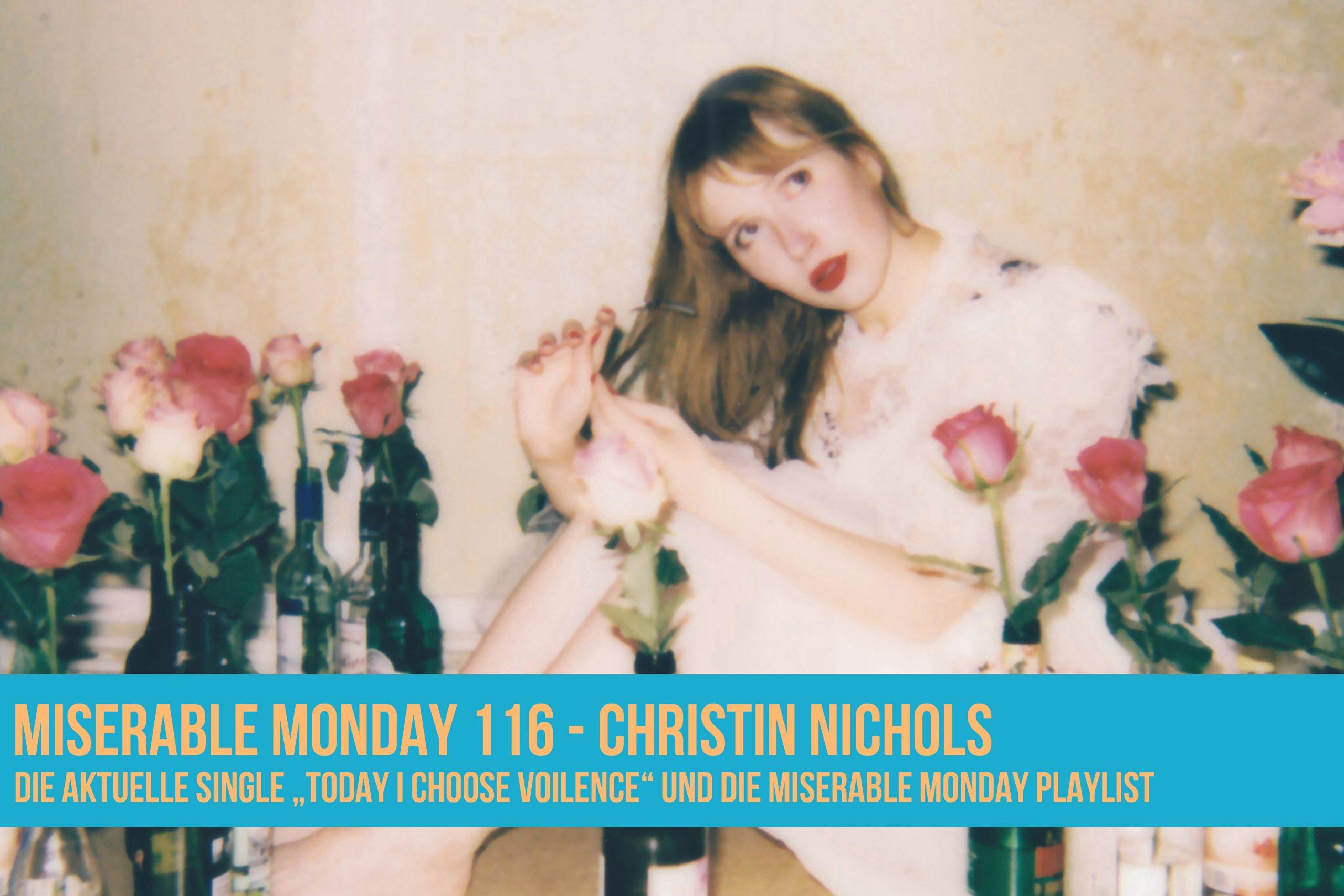 Christin Nichols - Today I choose Violence [Cover]